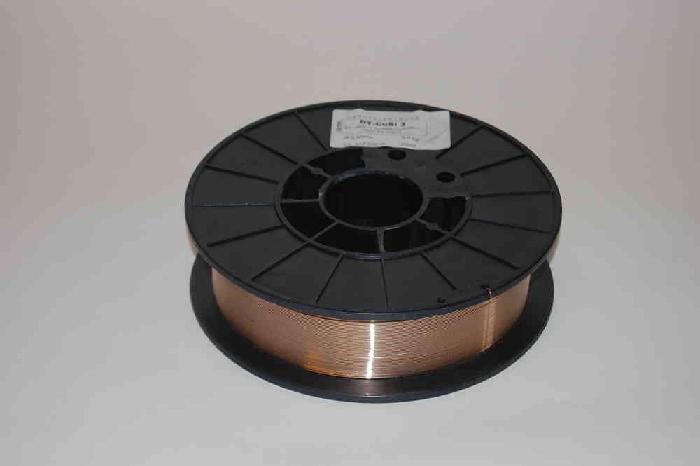 CuSi 3 Mig-Lötdraht 5kg 1,0mm auf D200 Spule - Hogg Schweißtechnik OHG